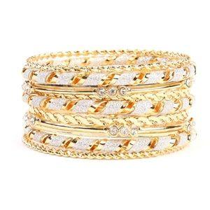 NWOT Gold Bracelet Set